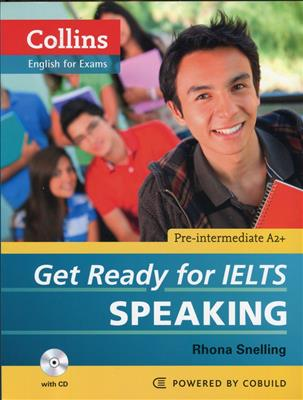 خرید کتاب انگليسی Collins Get Ready for IELTS Speaking Pre-Intermediate+CD