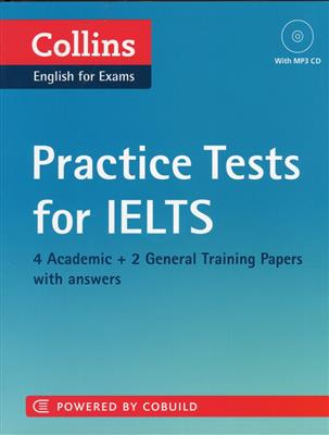 خرید کتاب انگليسی Collins Practice Tests for IELTS