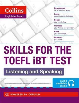خرید کتاب انگليسی Collins Skills for The TOEFL iBT Test: Listening and Speaking+CD