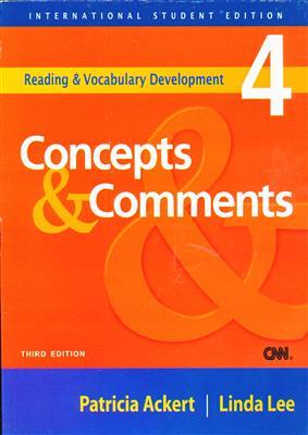 خرید کتاب انگليسی Concept and Comments old