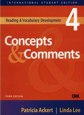 خرید کتاب انگليسی Concepts & Comments 4+CD