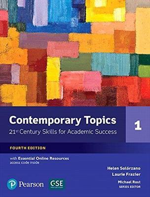 خرید کتاب انگليسی Contemporary Topics 1 (4th Edition)