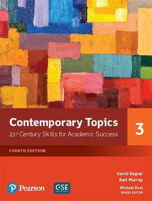 خرید کتاب انگليسی Contemporary Topics 3 (4th Edition)