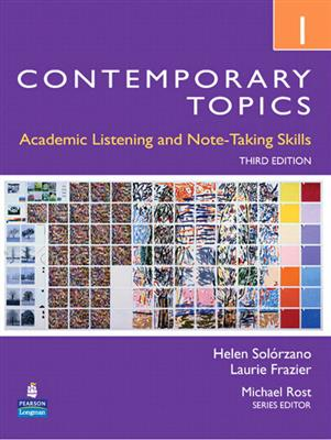خرید کتاب انگليسی Contemporary topic 1+CD