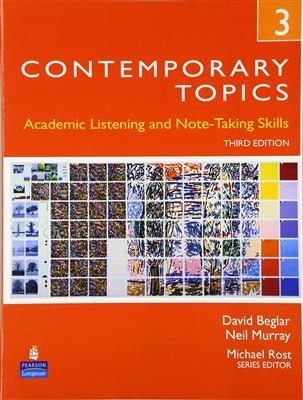 خرید کتاب انگليسی Contemporary topic 3+CD