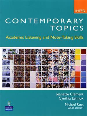 خرید کتاب انگليسی Contemporary topic Intro+CD