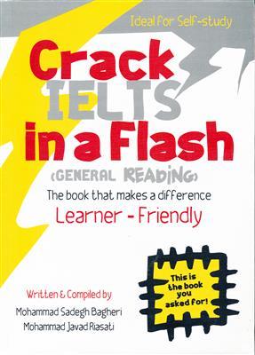 خرید کتاب انگليسی Crack IELTS in a Flash + CD General Reading