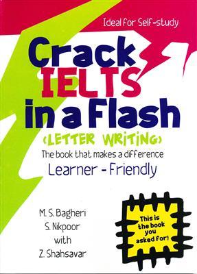خرید کتاب انگليسی Crack IELTS in a Flash + CD Letter Writing