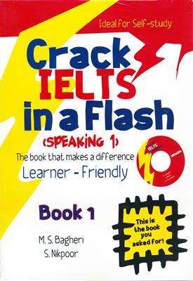 خرید کتاب انگليسی Crack IELTS in a Flash + CD Speaking 1