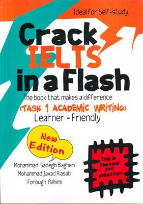 خرید کتاب انگليسی Crack IELTS in a Flash + CD Task 1 Academic Writing