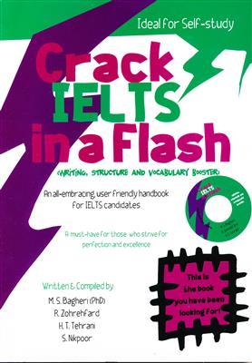 خرید کتاب انگليسی Crack IELTS in a Flash + CD Writing Structure and Vocabulary Booster