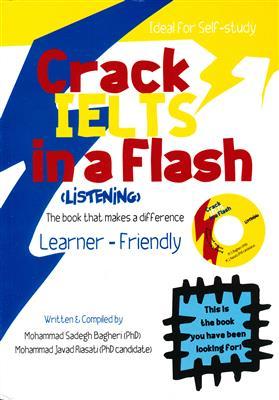 خرید کتاب انگليسی Crack IELTS in a Flash + CD listening