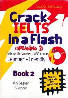 خرید کتاب انگليسی Crack IELTS in a Flash Speaking 2 + CD
