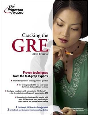 خرید کتاب انگليسی Cracking the GRE with DVD
