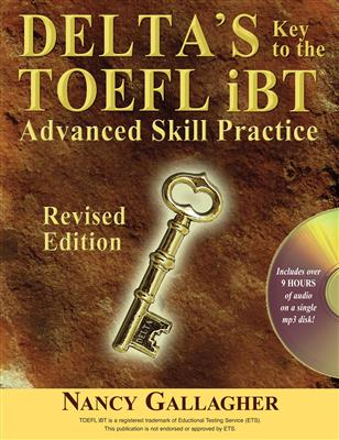 خرید کتاب انگليسی Deltas Key to the TOEFL iBT: Revised edition