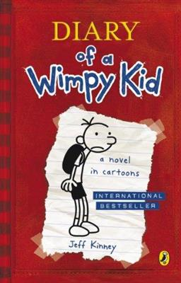 خرید کتاب انگليسی Diary Of A Wimpy Kid: a novel in cartoons