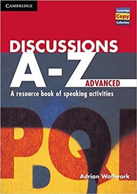 خرید کتاب انگليسی Discussions A-Z Advanced + CD