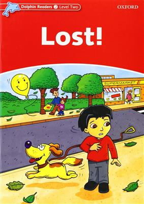 خرید کتاب انگليسی Dolphin Readers 2:Lost! (Story+WB)