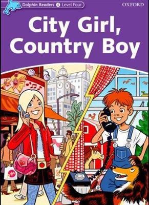 خرید کتاب انگليسی Dolphin Readers 4:City Girl