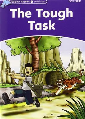 خرید کتاب انگليسی Dolphin Readers 4:The Tough Task(Story+WB)