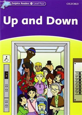 خرید کتاب انگليسی Dolphin Readers 4:Up and Down(Story+WB)