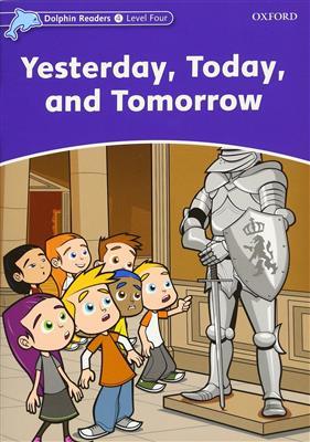 خرید کتاب انگليسی Dolphin Readers 4:Yesterday