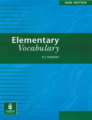 خرید کتاب انگليسی Elementary Vocabulary bj thomas
