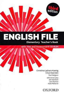 خرید کتاب انگليسی English File elementary Teachers Book 3rd+CD