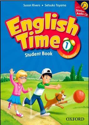 خرید کتاب انگليسی English Time 1 (2nd) SB+WB+CD