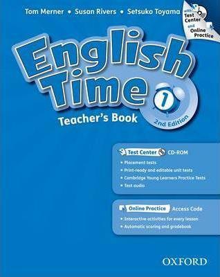 خرید کتاب انگليسی English Time 1 Teachers Book 2nd+CD