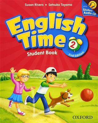 خرید کتاب انگليسی English Time 2 (2nd) SB+WB+CD