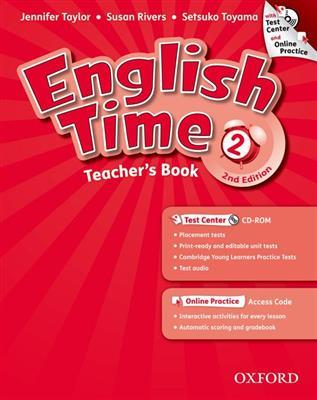 خرید کتاب انگليسی English Time 2 Teachers Book 2nd+CD