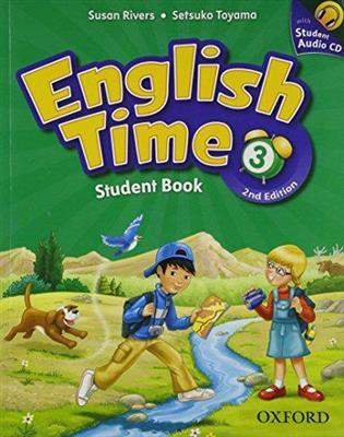 خرید کتاب انگليسی English Time 3 (2nd) SB+WB+CD