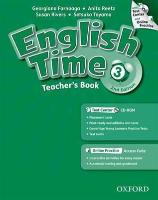خرید کتاب انگليسی English Time 3 Teachers Book 2nd+CD