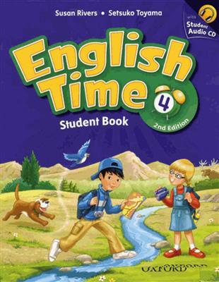 خرید کتاب انگليسی English Time 4 (2nd) SB+WB+CD