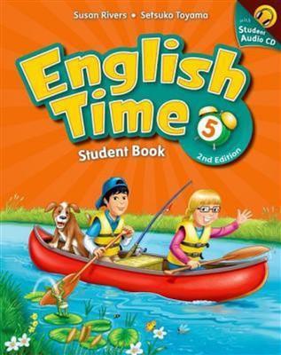 خرید کتاب انگليسی English Time 5 (2nd) SB+WB+CD