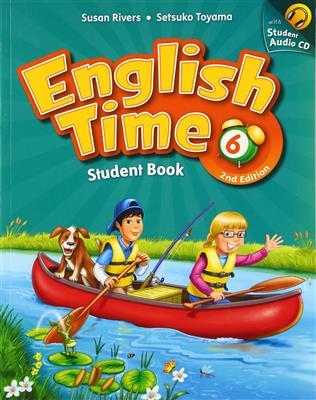 خرید کتاب انگليسی English Time 6 (2nd) SB+WB+CD
