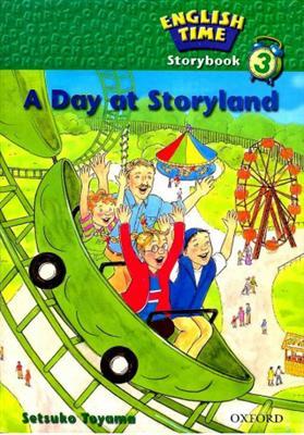 خرید کتاب انگليسی English Time Story-A Day at Storyland+CD