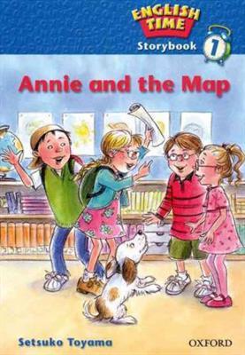 خرید کتاب انگليسی English Time Story-Annie And The Map+CD