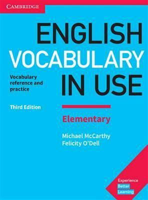 خرید کتاب انگليسی English Vocabulary in Use Elementary 3rd+CD