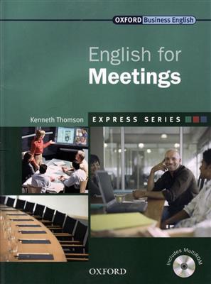 خرید کتاب انگليسی English for Meetings