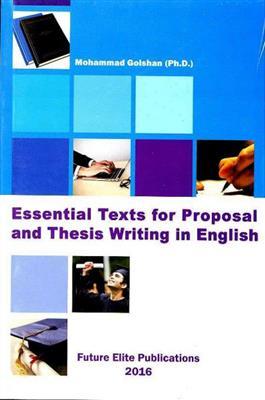 خرید کتاب انگليسی Essential Texts for Proposal and Thesis Writing in English
