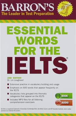 خرید کتاب انگليسی Essential Words for the IELTS 2nd+CD