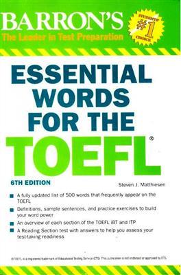 خرید کتاب انگليسی Essential Words for the TOEFL 7th+CD