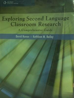 خرید کتاب انگليسی Exploring Second Language Classroom Research