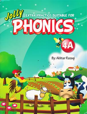 خرید کتاب انگليسی Extra Practice Suitable for Phonics 4A