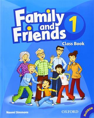 خرید کتاب انگليسی Family and Friends 1 (SB+WB+2CD)
