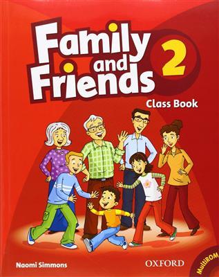 خرید کتاب انگليسی Family and Friends 2 (SB+WB+2CD)