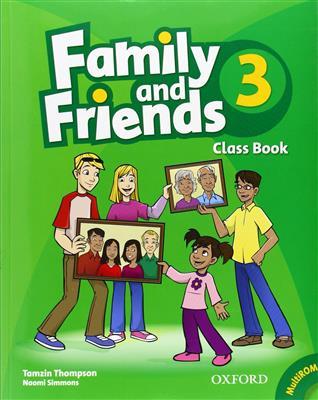 خرید کتاب انگليسی Family and Friends 3 (SB+WB+2CD)