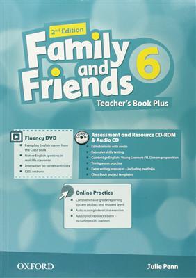 خرید کتاب انگليسی Family and Friends 6 (2nd) Teachers Book+DVD+CD
